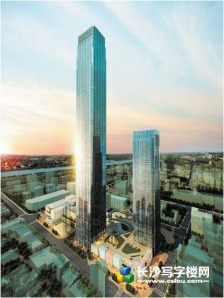 湖南第一高楼,超6C甲级写字楼,九龙仓国际金融中心