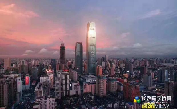 世茂环球金融中心 5A甲级写字楼出售 投资首选