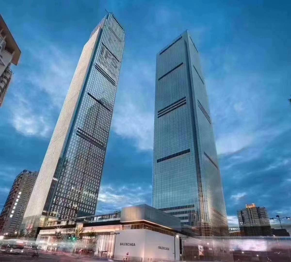 五一广场双地铁口 长沙地标 IFS国金中心 现代化装修 面积可选