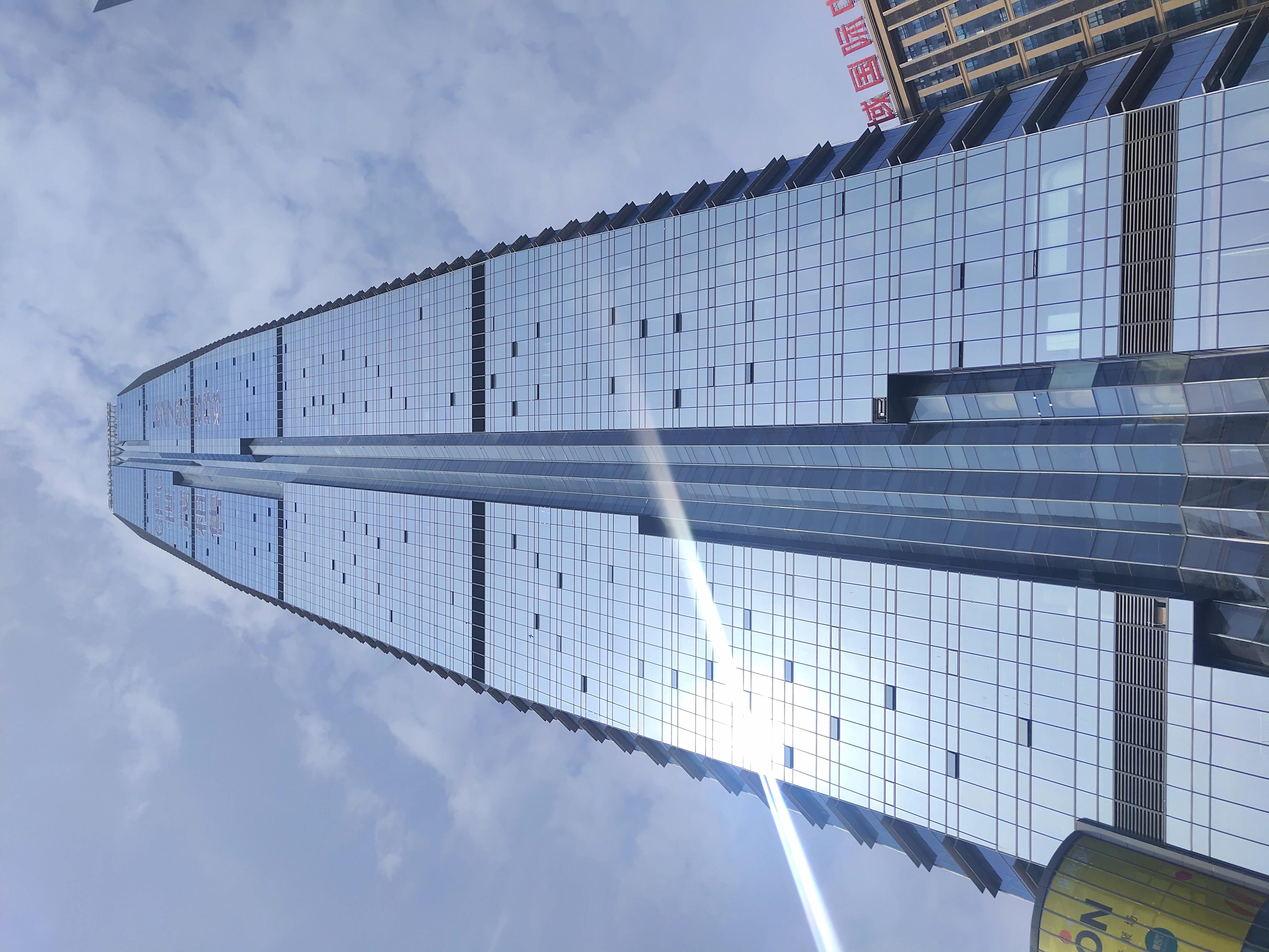 世茂环球金融中心 金融地标 简装出租 免租期3个月 视野开阔 随时看房子