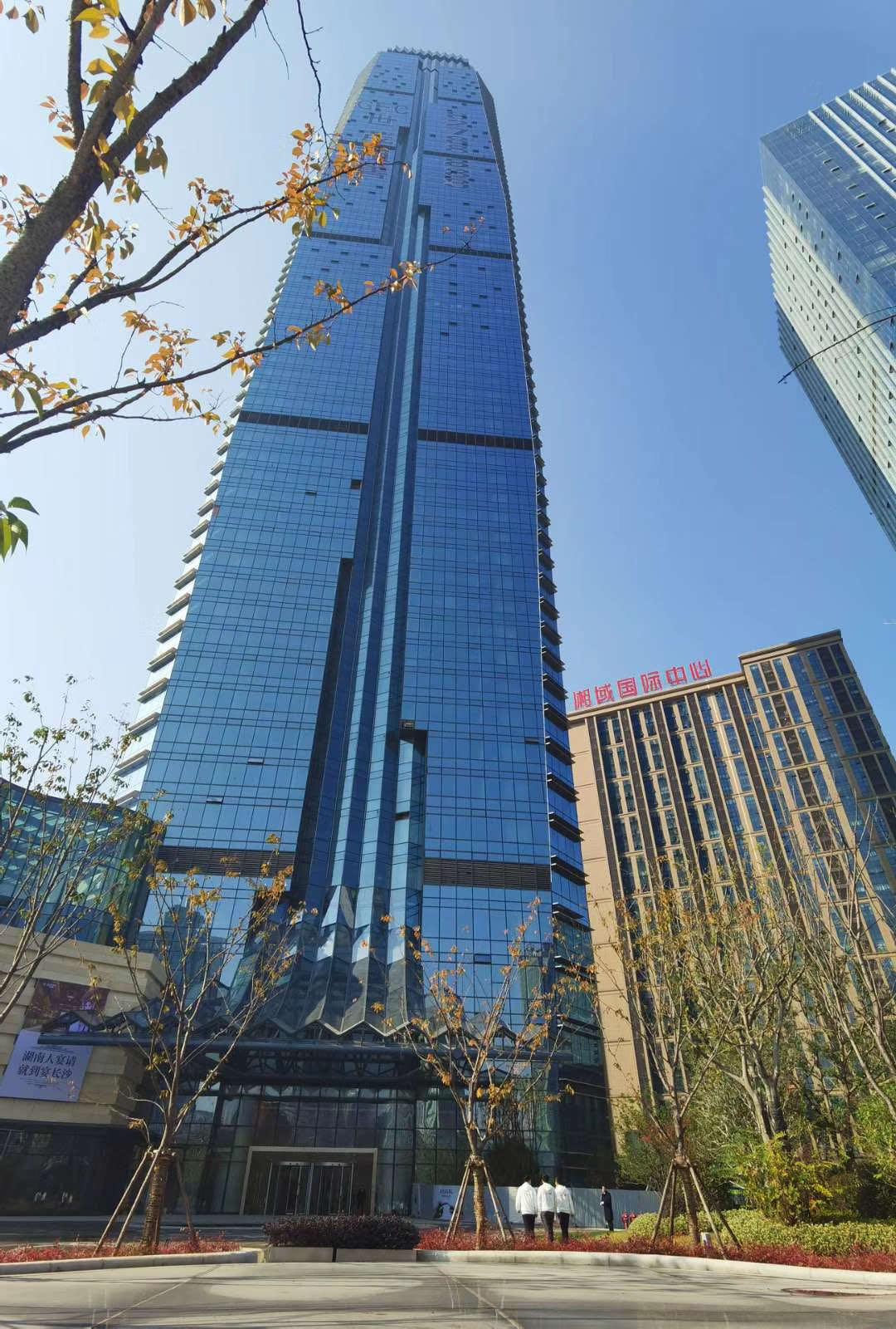 芙蓉广场 正地铁口 世茂广场  长沙地标建筑 高楼层